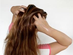 bain dhuile pour cheveux
